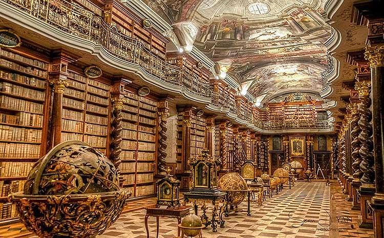 національна бібліотека чехії, прага