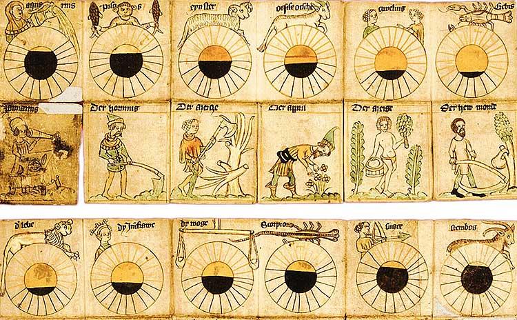 древній астрологічний календар